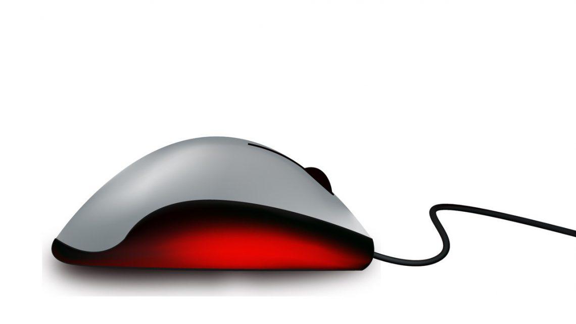 Odpowiednia myszka na zmęczony nadgarstek